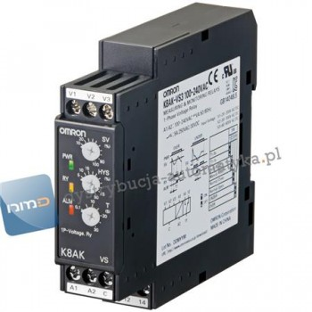 K8AK-VS3 100-240VAC PRZEKAŹNIK KONTROLI NAPIĘCIA 1
