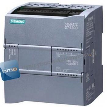 SIMATIC S7-1200, CPU 1211C DC/DC/DC, 6 WEJŚĆ BINAR