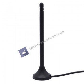 LTE antena, Mocowanie magnetyczne 12 cm z 2m kable