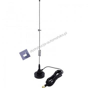 LTE antena, giętki bicz magnetycznyz 3m kablem, SM