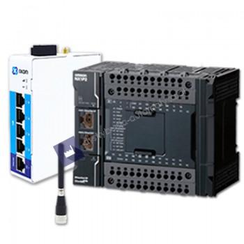IXON IXrouter3 4G/LTE + OMRON NX1P2-9024DT1