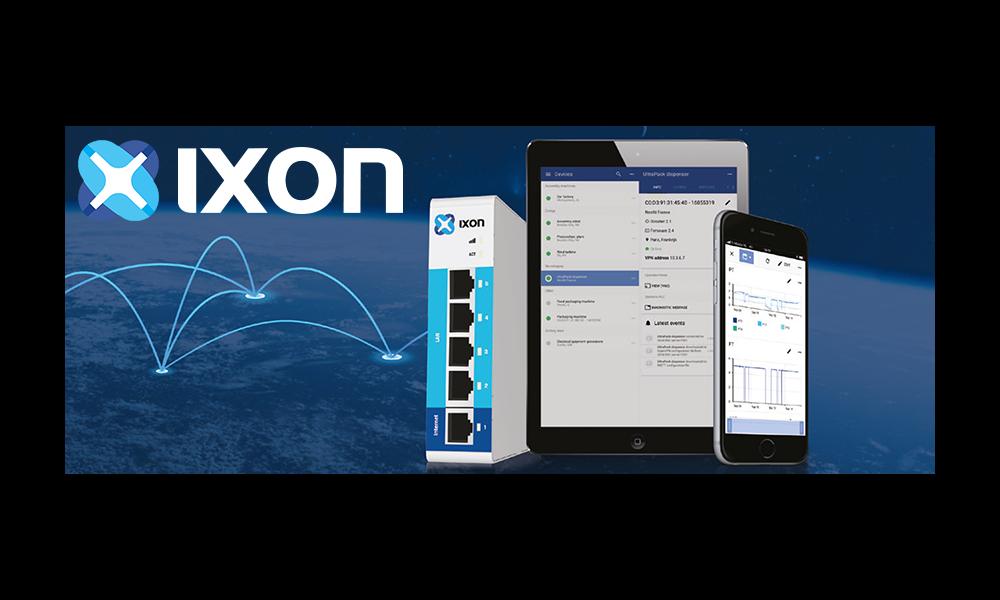 IXON – Zdalny dostęp do maszyn
