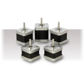 Silnik krokowy (2 fazy 1.8°), NEMA 17 (0.40Nm 0.7A