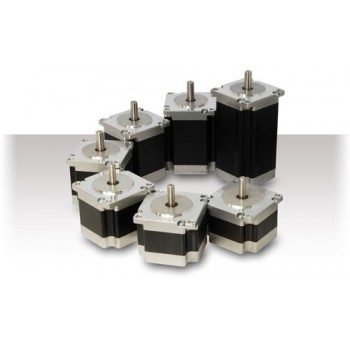 Silnik krokowy (2 fazy 1.8°), NEMA 23 (0.55Nm 2.0A