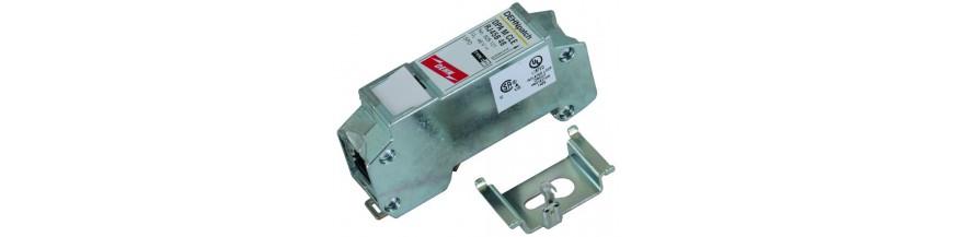 Ochrona przepięciowa torów sygnałowych PLC