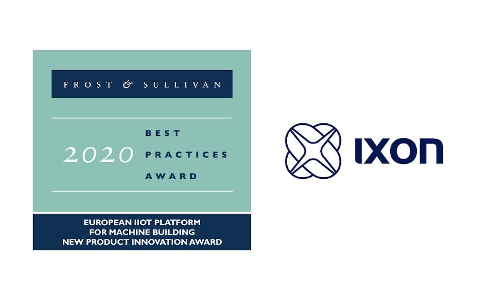 IXON otrzymuje prestiżową nagrodę Frost & Sullivan Best Practices Awar
